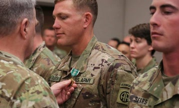 Soldiers Honored For Saving Lives After Afghan Suicide Bombing