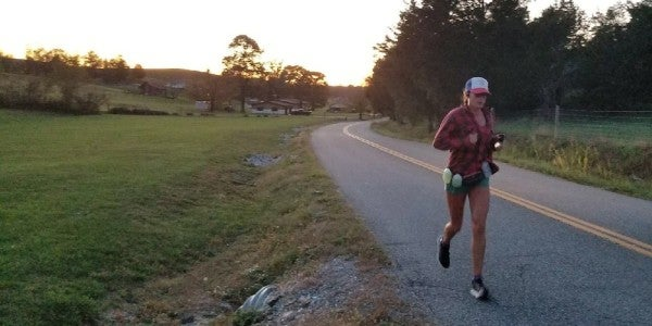 How The Marine Corps Prepared Me To Run Across The Country In 100 Days