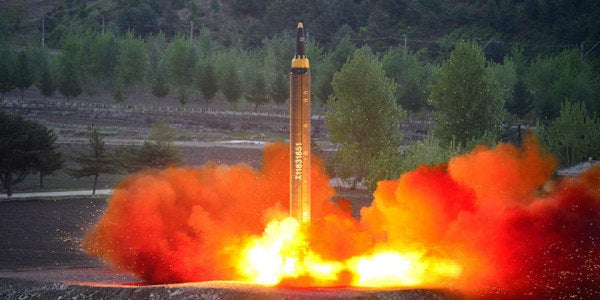 A Failed North Korean Missile Test Reportedly Crashed On One Of North Korea's Own Cities