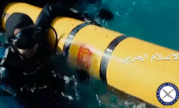 Houthi Rebels Captured What Appears To Be A US Navy Drone Off Yemen Coast