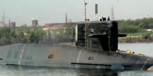 A Foreign Navy Screwed Up Its New $3 Billion Nuclear Missile Sub By Leaving Its Hatch Open