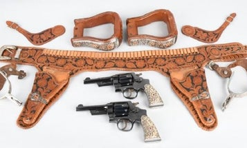 John Wayne's Revolvers And An Arsenal Of Historic Firearms Are Up For Auction