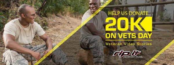 Help Rip It Give $20,000 Away On Veterans Day