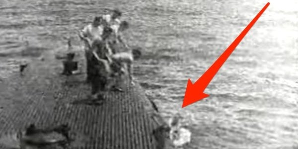 Watch George H.W. Bush's Rescue By The US Navy After He Was Shot Down By Japanese Forces During WWII