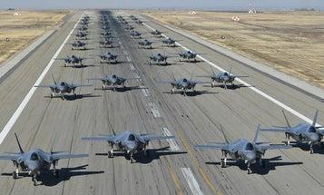 The Big Problem With That Big Air Force F-35 Elephant Walk