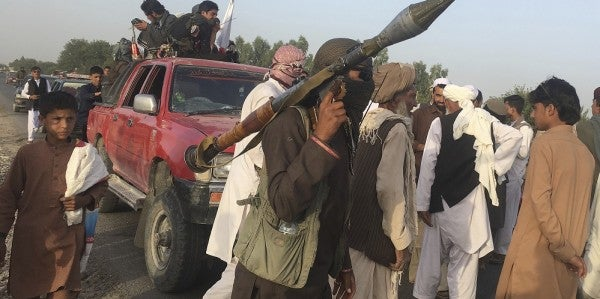 Once Described As On Its 'Back Foot,' Taliban Number Around 60,000, General Says