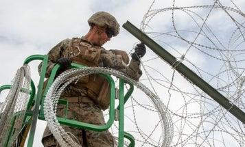 Despite Tweet, Trump Hasn't Ordered US Troops To Build His Border Wall Yet