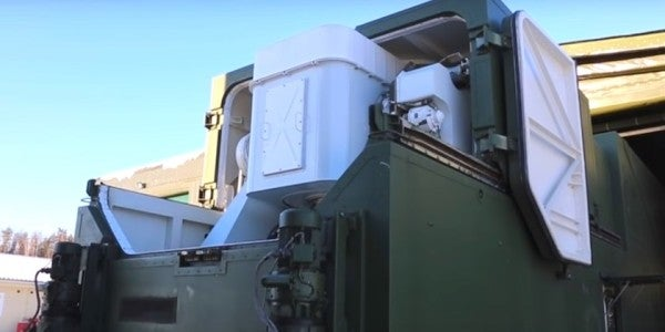 Watch Russia Unveil Its New Laser Weapon
