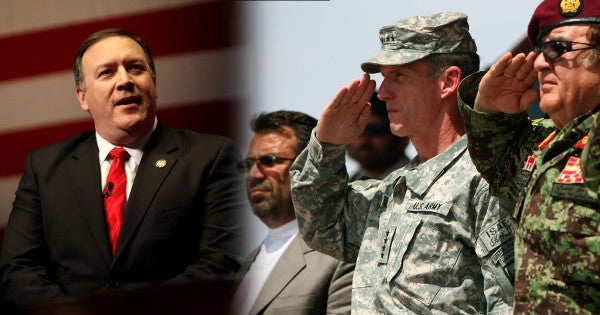 General McChrystal Told Pompeo To 'Muddle Along' In Afghanistan, Leaked Audio Reveals
