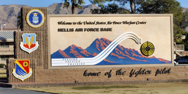Nellis Air Force Base Had The Most Bizarre Security Breach Of The Year