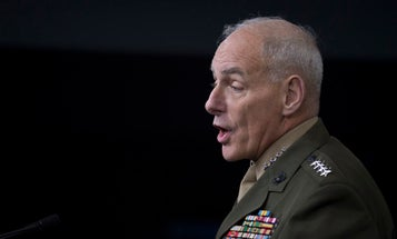 Retired Marine Gen. John Kelly Is Leaving His Job As President Trump's Chief Of Staff