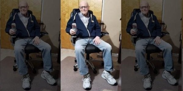 101-Year-Old WWII Veteran Credits His Longevity To Drinking Coors Light Every Day