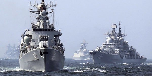 Senior Chinese Military Officer Calls For Attacks On US Ships In The South China Sea
