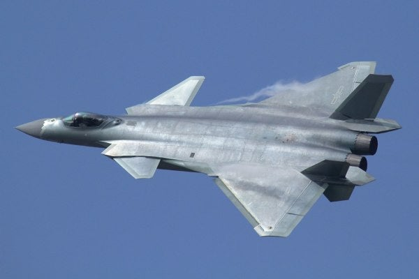 The US Military Put A Fake Chinese J-20 Stealth Fighter At A Georgia Air Base