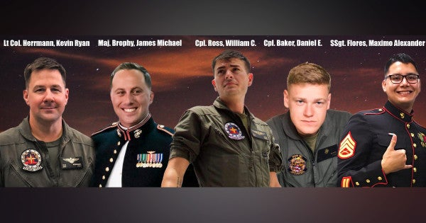 Corps Identifies 5 Marines Who Died In KC-130 Crash Off Japan