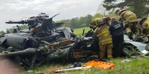 A Helo Crash Killed Their Crew Chief. Now 2 Surviving Soldiers Are Suing The Manufacturer