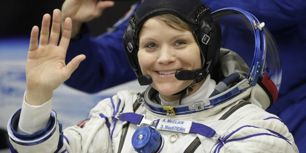 She Flew Helicopters In Iraq. Now She's The Army's Woman On The International Space Station