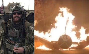 'He Was A Warrior' — Watch Airmen Hold An Emotional Viking Funeral For Fallen Combat Controller Dylan Elchin