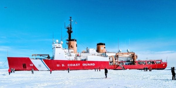 Coast Guard Passed On Arctic Exercise Amid Fears Its Garbage Icebreaker Would Require Russia's Help