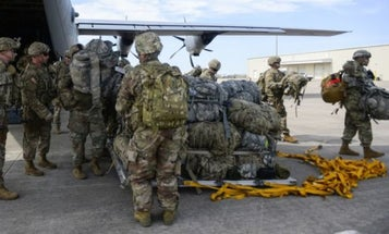 Hundreds Of Troops Deployed To The US-Mexico Border Have Started Heading Home