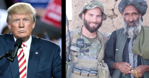 Trump Says He'll Review Case Of Maj. Matthew Golsteyn, Green Beret Charged With Murdering Suspected Taliban Bomb-Maker