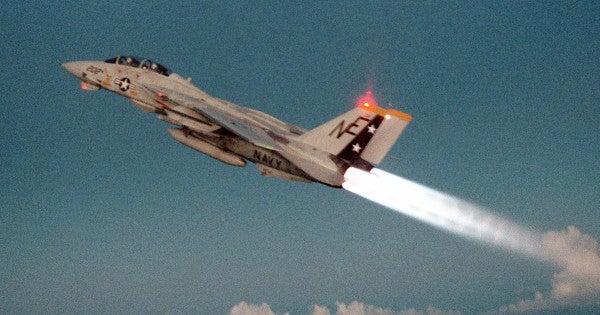 It Looks Like The Legendary F-14 Tomcat Is Making An Appearance In 'Top Gun 2'