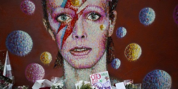 US Space Command Will Stand Up To Find Ziggy Stardust And Spiders From Mars