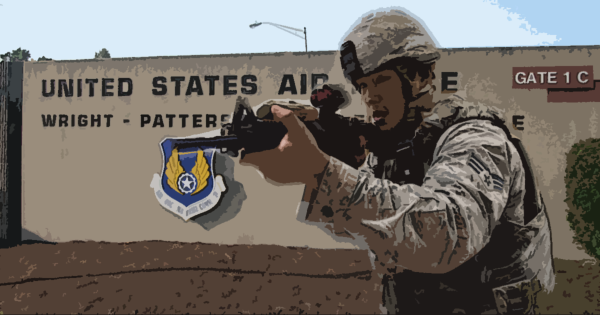 How A Wright-Patterson Air Force Base Exercise Led To An Airman Shooting A Door 5 Times