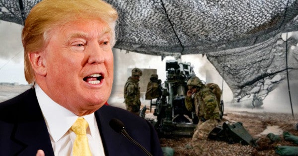 Trump Says Others 'Have To Fight ISIS' 24 Hours After Claiming They're Defeated