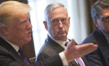 Defense Secretary Mattis Is Out