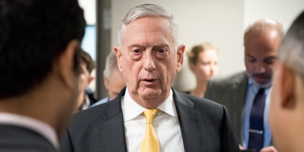 Lawmakers Are Freaking Out Over Mattis' Resignation