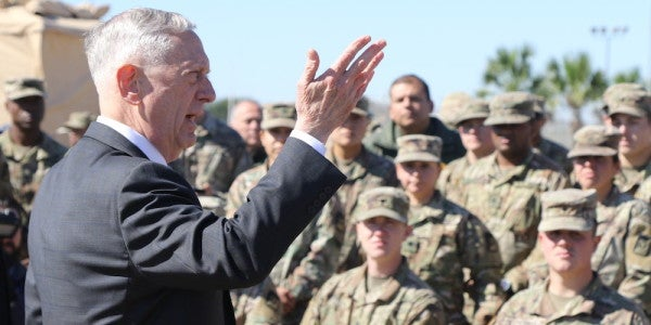 In 2014, Mattis Said What Would Make Him Resign In Protest. In 2018, He Actually Did It