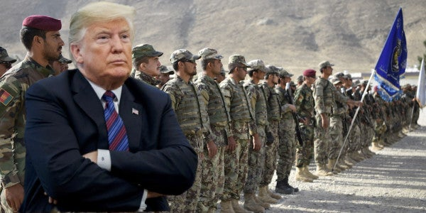Afghans To Trump: Your Troop Withdrawal Plan Could Derail Peace Process