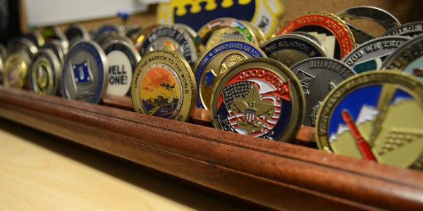 The Number Of Challenge Coins That Are Passed Out Is Too Damn High