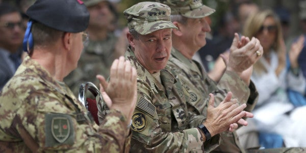 Top US Commander In Afghanistan: We Won't Be Seeing A Military Victory