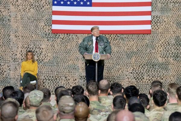 Trump Says He's 'In No Rush' To Pick A New Defense Secretary