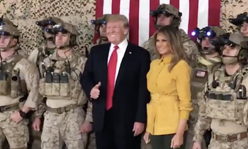 No, Trump Didn't Reveal A 'Covert' Navy SEAL Team In Iraq