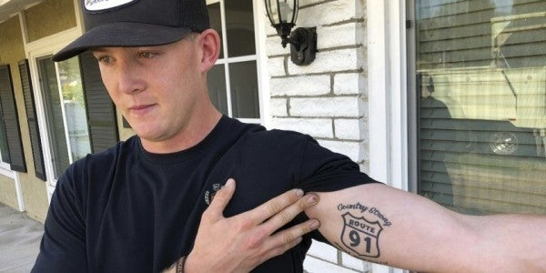 This Marine Survived 2 Mass Shootings In Just Over A Year. Now He's Headed To Afghanistan