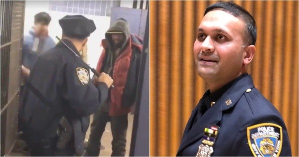 'Life Is Precious' — Army Vet Turned NYPD Officer Explains Why He Fended Off Subway Vagrants Without Drawing His Firearm