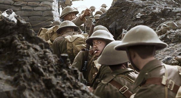 'They Shall Not Grow Old' Shows The Essence Of Grunt Life Hasn't Changed Much Since WWI