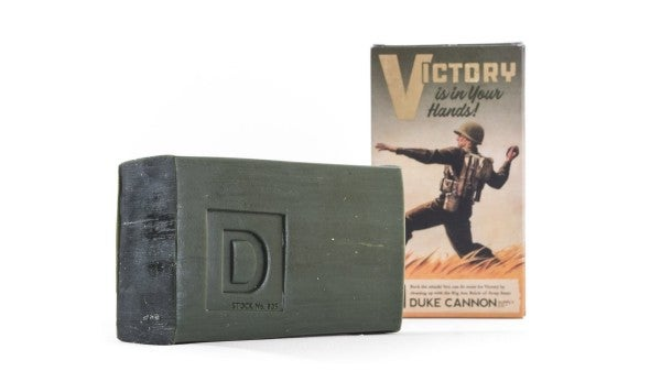 This Soap Smells Like Victory… And Boot Camp