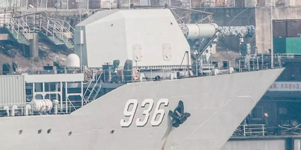 China's Electromagnetic Railgun Is Apparently Already Roaming The High Seas