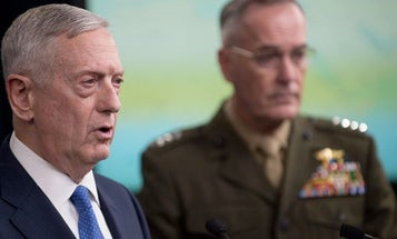 Mattis' Farewell Message: 'Keep Faith In Our Country And Hold Fast'
