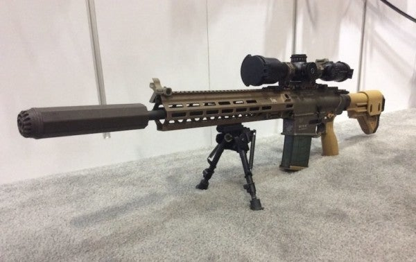 A Few Lucky Soldiers Are Already Rocking The Army's New Designated Marksman Rifle