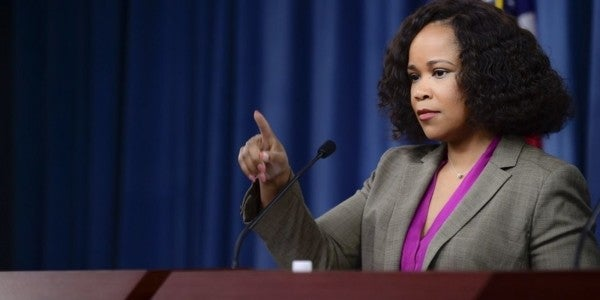Pentagon Spokeswoman Quits Following Misconduct Allegations