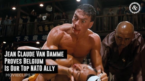 Jean Claude Van Damme Proves Belgium Is Our Top NATO Ally