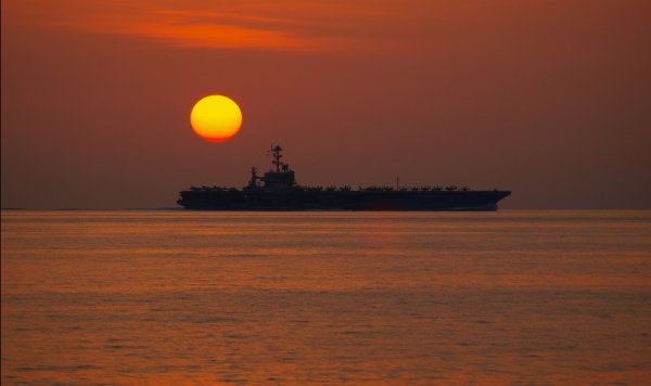 Sailors Hold Heathen Religious Services Aboard Deployed Aircraft Carrier