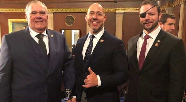 3 Purple Heart Recipients Snapped A Badass Photo On Their First Day In Congress