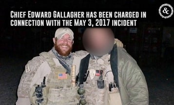 Navy SEAL Accused Of War Crimes Will Be Arraigned Friday