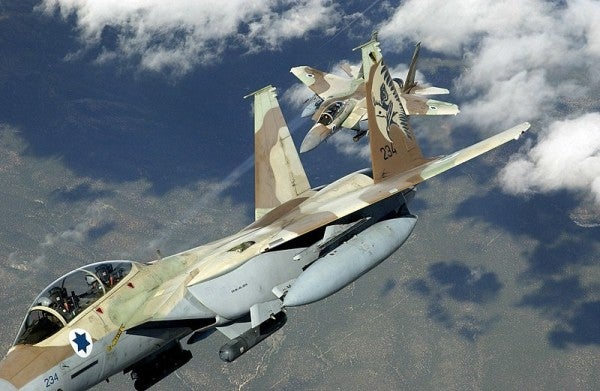 Harrowing Audio Shows Moment When An Israeli F-15's Canopy Comes Off At 30,000 Feet